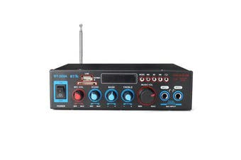 220V 800W 2CH Home Stereo bluetooth Amplifier Support USB FM AUX MIC Microphone