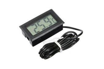 10Pcs Mini LCD Digital Thermometer For Aquarium Fish Tank Refrigerator Temperature Measurement 1M Probe -50°C to 110°C 10PCS
