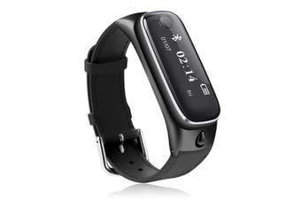 M6s bluetooth Headset Smart Bracelet Sport Tracker Sleep Moniter Smart Watch For Android IOS Phone BLACK