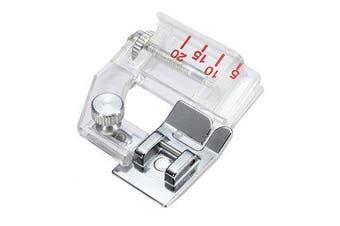 Adjustable Bias Binder Edge Presser Foot Sewing Machines Accessories Tools