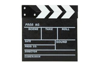 Director Video Scene Movie Clapperboard TV Movie Slate Film Cut Prop