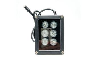 Mini CCTV IR Illuminator 850nm 6pcs Array Infrared LED Lamp Light IP67 Waterproof Night Vision