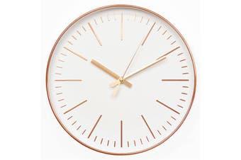 Modern Wall Clock Quartz Movement Clock Home Office Decoration ROSE