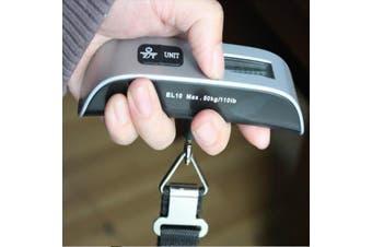 3Pcs Portable Digital Electronic Travel Luggage Hanging Scale