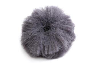 Fur Windscreedn Wind Shield Wind Muff for Lapel Lavalier Microphone Mic GRAY