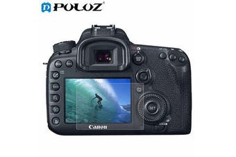 Camera 2.5D Curved Edge 9H Hardness Tempered Glass Screen Protector for Canon 7D Mark II