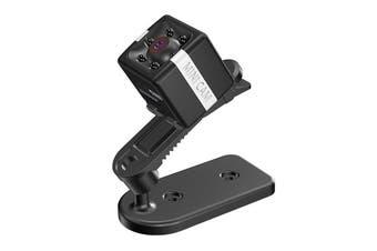 HD 1080P Mini IP Camera Home Security DVR Night Vision Sports DV Monitor BLACK