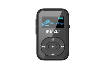 X26 Clip bluetooth 8GB Sport MP3 Music Player Voice Recorder FM Radio Support TF Card BLACK