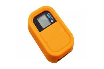 Soft Rubber Silicone Case Protective Housing Case Cover for Gopro Hero 3 3 Plus 4 Remote Controller ORANGE