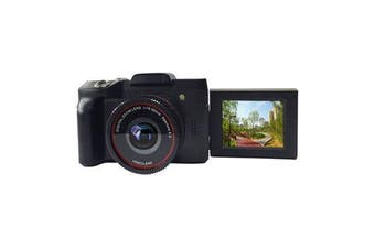16MP 16X Zoom 1080P HD Rotation Screen Mini Mirroless Digital Camera Camcorder DV with Built-in Microphone