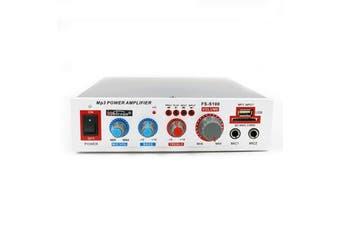 FS-S100 12W 220V USB TF Card bluetooth Speaker Audio Amplifier