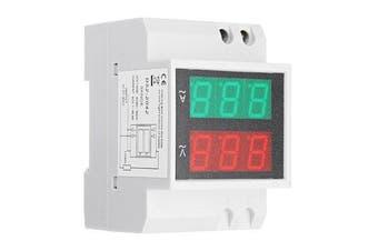 D52-2042 Double Display Guide Rail Digital Voltmeter Digital Display AC Voltmeter AC Current Meter