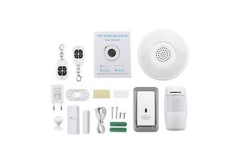 Wireless WiFi Cloud Alexa Smart Home Alarm Kit Gateway by Smart Life Tuya Smart App Control
