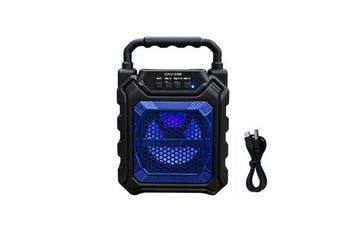 bluetooth High Power Bass Sound Speaker TF Card Music Player for Outdoor BLUE