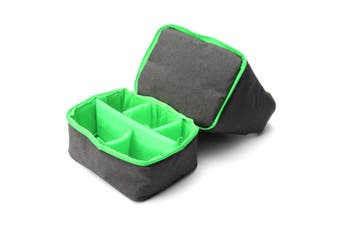 Camera Bag Pouch Case DSLR SLR Lens Waterproof Shockproof for Canon for Nikon for Sony green