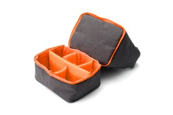 Camera Bag Pouch Case DSLR SLR Lens Waterproof Shockproof for Canon for Nikon for Sony orange
