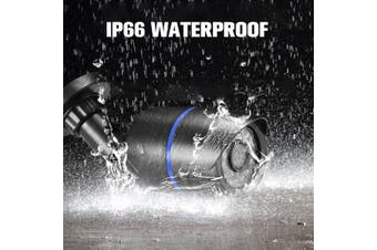 Wireless Onvif POE IP Camera 2.8mm Outdoor 720P WIFI Security HD IR Night Vision 100W 2.8MM