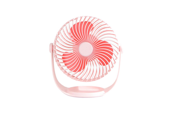 Well Star WT-F12 Portable Mini USB Fan Air Cooling Fan 360º Rotating Fan Chargable Air Cooler Silent Cooling Fans With USB Cable For Home Office Student Dormitory Outdoors