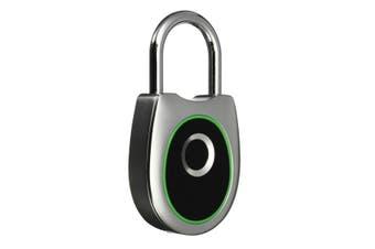 Smart USB Charging Fingerprint Lock Anti-Theft Keyless Lock Fingerprint Padlock Waterproof