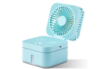 Rubik's Cube Handhold USB Humidifier Spray Fan