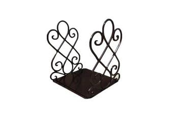 Vintage Iron Bookends Shelf Craft Stand Antique Book End Home Room Decor Ornaments Upgraded Version