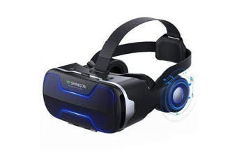 G02ED Helmet 3D Glass Virtual Reality VR Glasses Headset for iPhone Android Smartphone