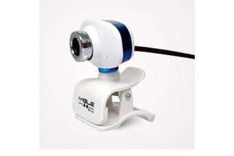 Desktop Laptop USB Webcam High-definition with Microphone 1200W Pixels