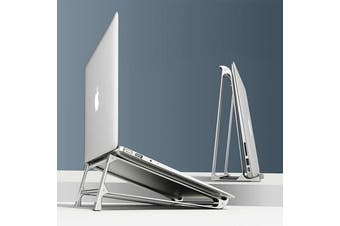 Aluminium Alloy Vertical Storage Laptop Stand Desktop Tablet Holder Desk Mobile Phone Stand For Macbook Pro Air Notebook