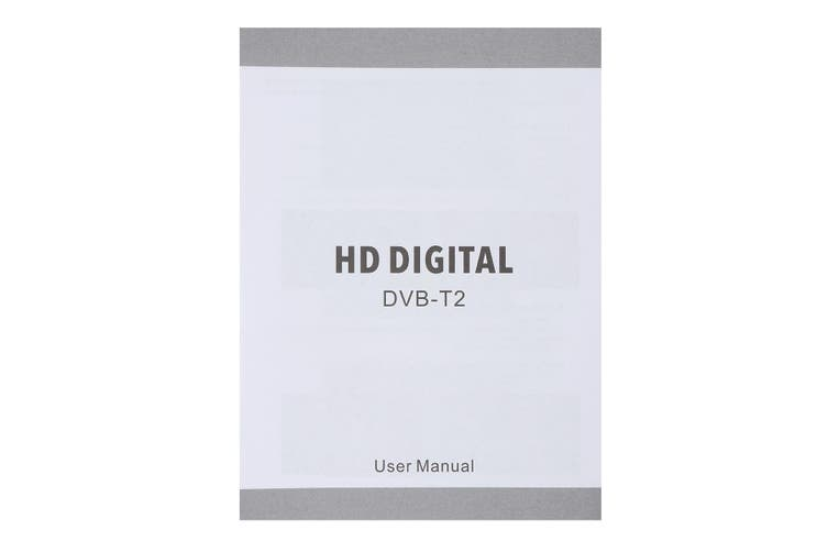 DVB-T/DVB-T2 Digital Terrestrial Broadcasting TV Tuner Convertor Receiver TV Set-top Box HDMI CVBS 1080P HD Satellite H.264