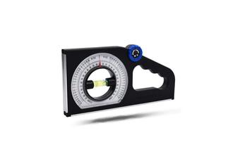 Multifunctional Meter Slope Gradient Instrument Inclinometer Angle Feet Foot Slope Measuring Ruler Magnetic Angle Finder Slope Horizontal Vertical Angle Bevel Protractor Declinometer