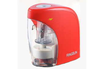 RS-A04431 Student Automatic Pencil Sharpener Stationery Cchildren Electric Pencil Sharpener