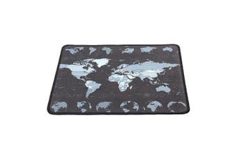 Small World Map Mat 300*250mm Non-Slip Mousepad Waterproof Overlock Gaming Mouse Pad Mat