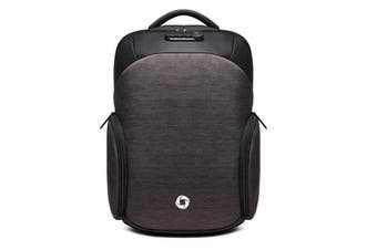 USB Charge Anti-theft Backpack Laptop Mens Backpacks Outdoor Travel Business Bag School Bags DARK GREY