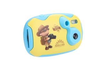 1.44 Inch HD Screen Mini Kids Children Digital Video Camera BLUE