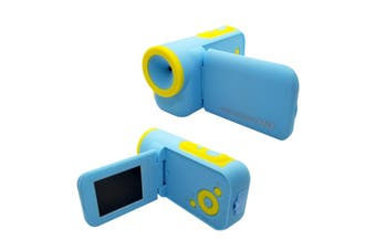 Pink Blue 5MP F3.1 Mini Children Kids 16MB Memory 2.0 TFT Screen Camcorder DV Camera BLUE