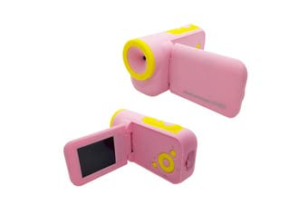 Pink Blue 5MP F3.1 Mini Children Kids 16MB Memory 2.0 TFT Screen Camcorder DV Camera PINK