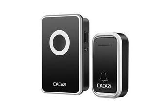 Wireless Doorbell 300M Waterproof Door Bell AC 110-220V 80dB 1 Emitter 1 Receiver No Battery