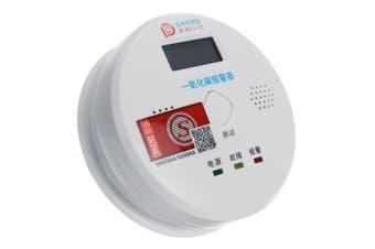 Smoke Alarm LCD CO Carbon monoxide smoke integrated alarm Detector Warn Sensor