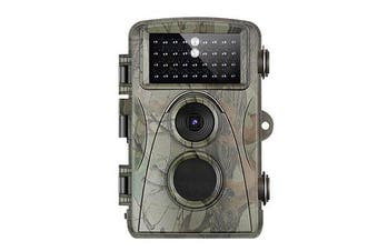 Hunting Camera 12MP 1080P Full HD Trail Camera Infrared Wildlife Camera with Night Vision 65FT IP56 Waterproof Game Cam for Wildlife Monitoring