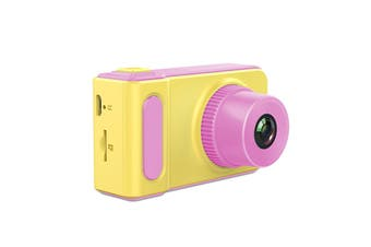 K7 12MP Rechargeable Mini Kids Children Camera with 2 Inch Screen PINK