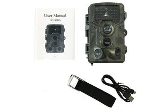 HC-800A Waterproof Full HD 16MP 1080P Video Wild Night Vision IR Trap Scouting Hunting Camera