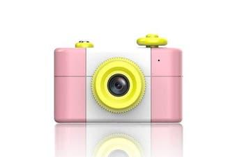 Cute 5MP 1080P HD 1.5 Inch Screen Mini Kid Children Camera PINK