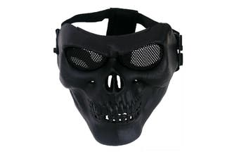 CS Face Mask Masque Skull Style Airsoft War Game Guard Protection
