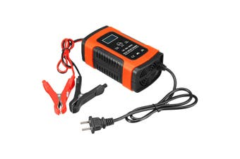 12V 5A Battery LCD Intelligent Charger 100-240V Pulse Repair for Motorcycle Car