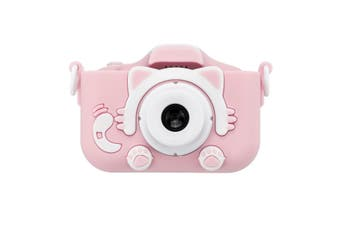X5S 2000W HD 1080P Dual Lens Digital Child Kids Camera Video Recorder Camcorder PINK