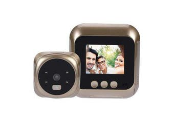 2.4 Inch LCD Video Doorbell Night Vision Talk Smart Door Bell Security Camera LED