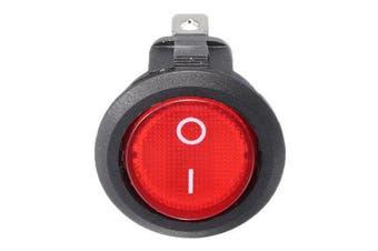 12V 16A Car Boat Rocker Switch ON/OFF SPST LED Lamp Dash red