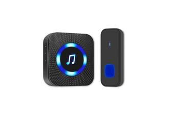 Wireless Door Bell Doorbell 300M Waterproof Wall Plug In 50 Loud Chime LED Flash
