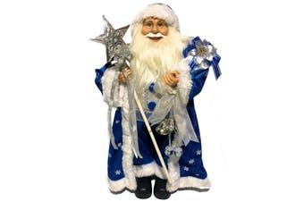 Antarctic Blue Santa Claus 48cm