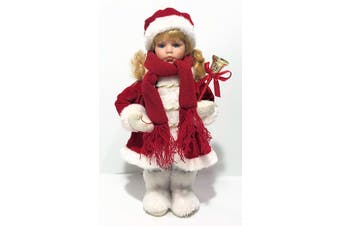 Christmas Baby Doll 'Bella Grace' 30cm